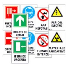 Indicatoare si avertizare pentru siguranta muncii