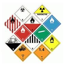 semnalizare si etichetare marfuri periculoase