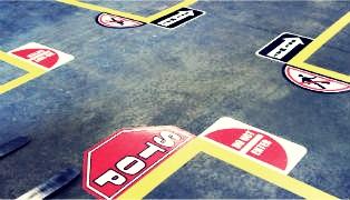 aplicare marcaje rutiere
